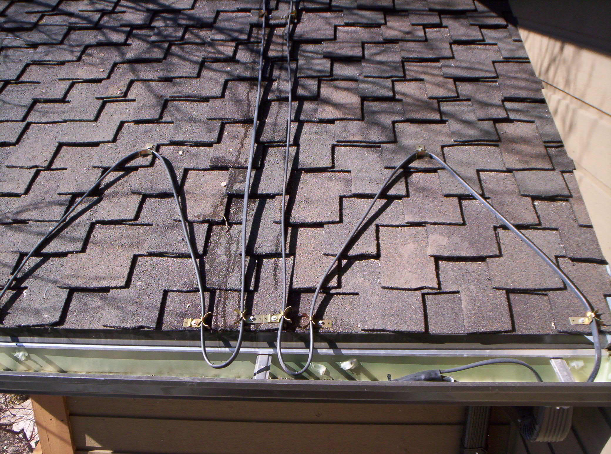 images of heat tape gutters roof - Roof Heat Tape