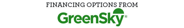 Financing Options from GreenSky*